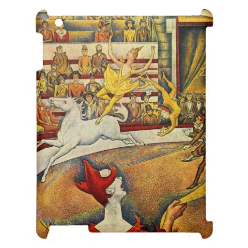 Le Cirque ( The Circus ) by Georges Seurat Case For The iPad