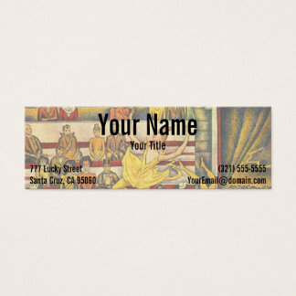 Le Cirque ( The Circus ) by Georges Seurat Mini Business Card
