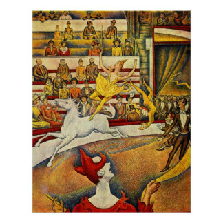 Le Cirque ( The Circus ) by Georges Seurat Poster