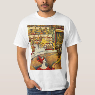 Le Cirque ( The Circus ) by Georges Seurat T-Shirt
