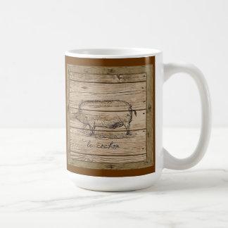 le cochon coffee mug