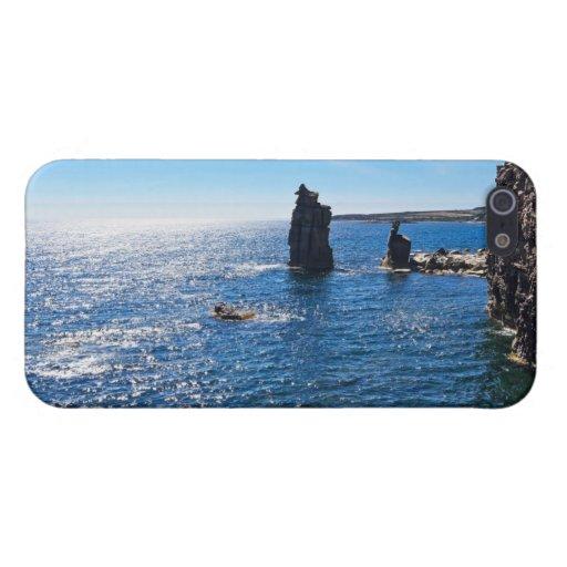 Le Colonne - isla de San Pedro iPhone 5 Fundas