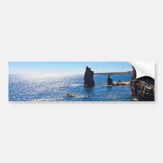 Le Colonne - San Pietro island Bumper Sticker