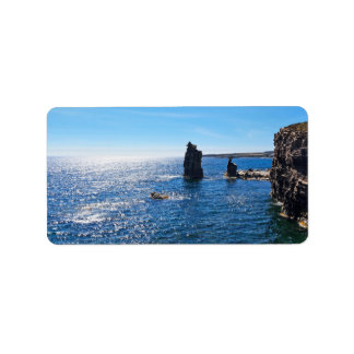 Le Colonne - San Pietro island Label