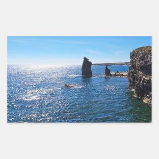 Le Colonne - San Pietro island Rectangular Sticker