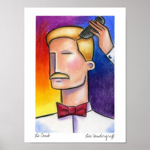 Le Comb by Lee Vandergrift Print