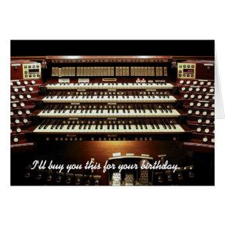 Le compraré esto para su tarjeta de cumpleaños