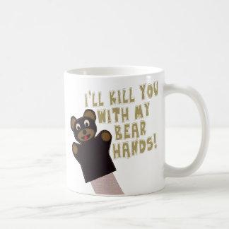 Le conseguiré con mis manos del oso taza