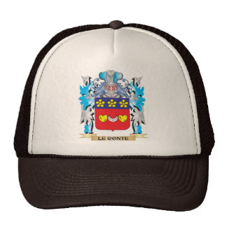 Le-Conte Coat of Arms - Family Crest Hats