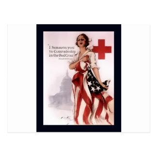 Le convoco a la camaradería en el Cross~WW rojo I Postal