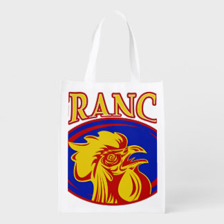 Le Coq Gaulois Grocery Bags