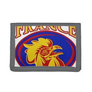 Le Coq Gaulois Trifold Wallet