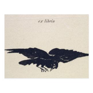 Le Corbeau, 1875 Tarjeta Postal