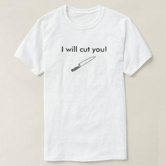 ¡Le cortaré! Camisas