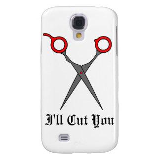 Le cortaré (las tijeras rojas del corte del pelo)