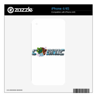 Le' Cosmic Skins iPhone 4S Decal