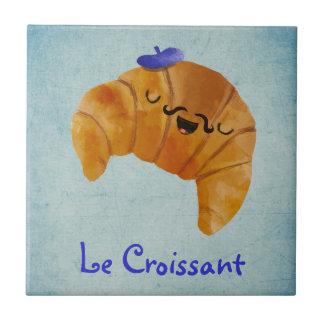 Le Croissant Azulejo Cuadrado Pequeño