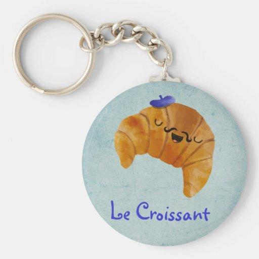 Le Croissant Llavero Redondo Tipo Pin