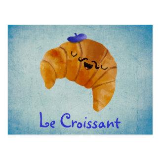 Le Croissant Postcard