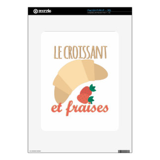 Le Croissant Skins For iPad