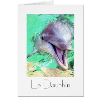 Le Dauphin Greeting Card Design
