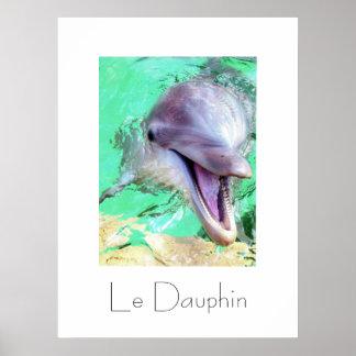 Le Dauphin Poster Design