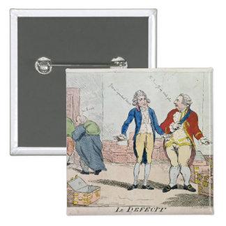 Le Deficit, 1788 Buttons