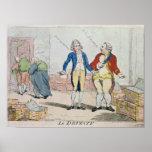 Le Deficit, 1788 Poster