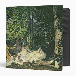 Le Dejeuner sur l'Herbe, 1865-1866 Vinyl Binders