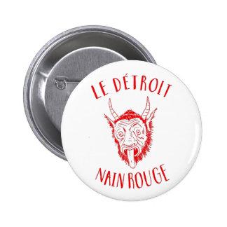Le Detroit Nain Rouge Pinback Buttons