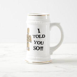 Le dije tan - la taza