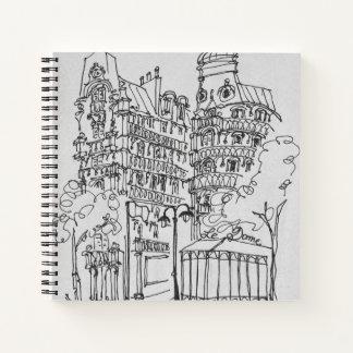Le Dome on Boulevard Raspail | Paris, France Notebook