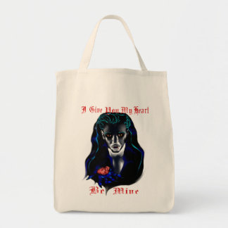 Le doy mi bolso del corazón bolsas lienzo