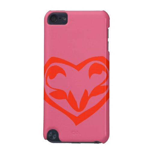 Le doy mi corazón en tango de la mandarina funda para iPod touch 5G