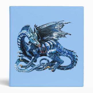 Le dragon bleu - binders