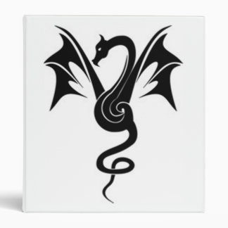 Le dragon noir - 3 ring binder