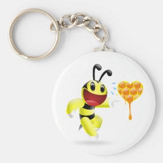 Le encontré miel - abeja de Dudu Llavero Personalizado