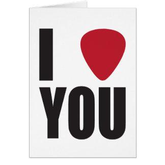 Le escojo tarjeta del el día de San Valentín