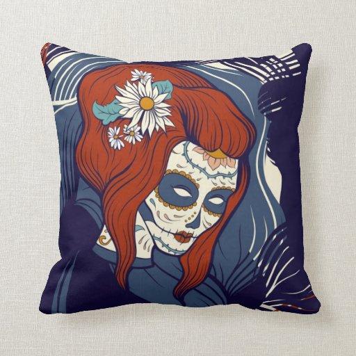 Le esperaré almohada de Halloween
