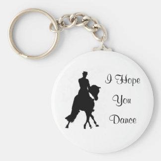 Le espero llavero del caballo del Dressage de la d