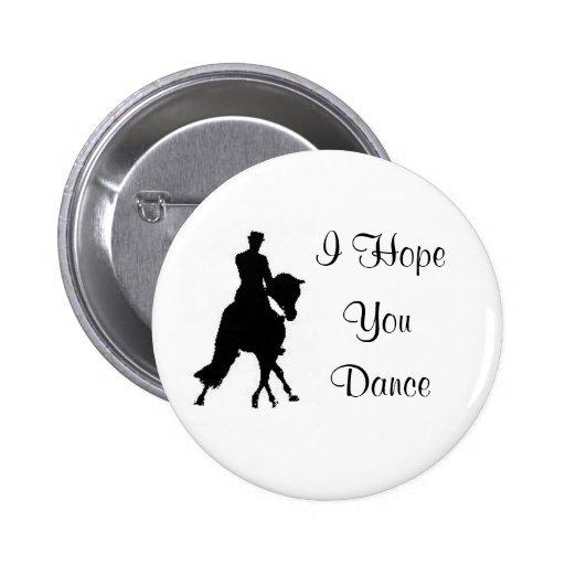 Le espero Pin del caballo del Dressage de la danza