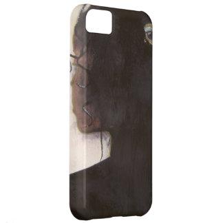 Le está viendo: Mujer con los ojos en la parte de  Carcasa iPhone 5C