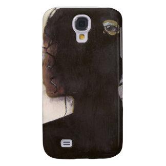 Le está viendo: Mujer con los ojos en la parte de  Samsung Galaxy S4 Cover
