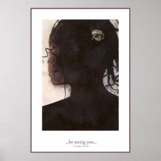 ….le está viendo…. póster