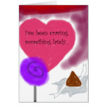 """""""Le estoy anhelando"""" tarjeta romántica del amor de"""