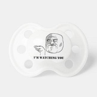 Le estoy mirando - meme chupete
