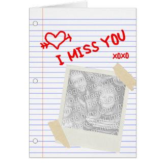 le falto: papel polaroid tarjeta pequeña