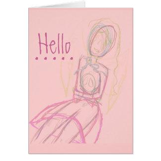 Le falto tarjeta en rosa