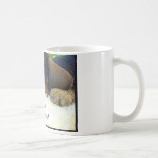 Le falto taza básica blanca