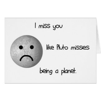 Le falto tengo gusto de las faltas de Plutón que s